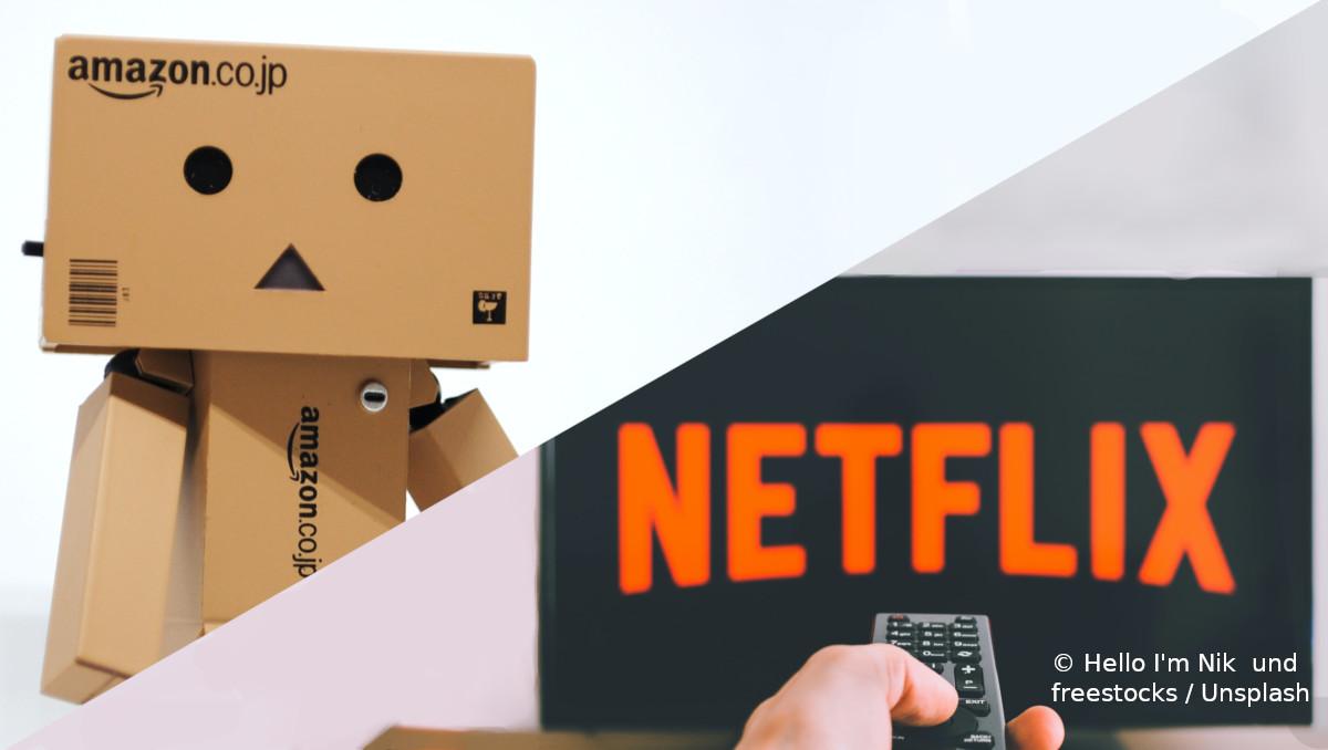 Amazon und Netflix konnten ihre Umsätze während der Corona-Krise steigern