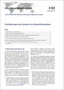 Austausch von Steuerinformationen