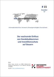 Handelsabkommen Investitionsschutz